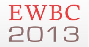 EWBC 2013 logo