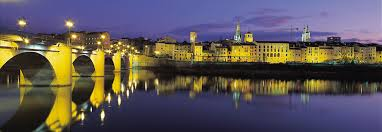Logroño at night