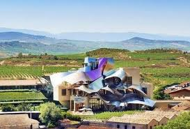 Marques de Riscal Winery, Elciego, south of Rioja Alava