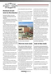 The Wine Merchant trade magazine article