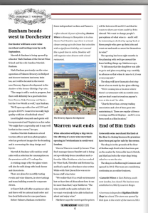 The Wine Merchant trade magazine article